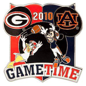 NCAA Rivalry Series Georgia Vs. Auburn Pin