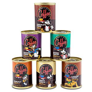 Mickey Mouses Really Swell Coffees Gift Set -- 6-Pc.