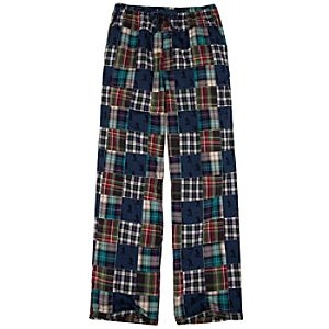 Patchwork Mickey Mouse Lounge Pants for Men