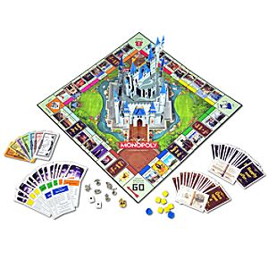 The Disney Theme Park Edition III Monopoly