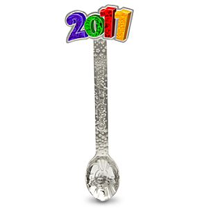 2011 Walt Disney World Resort Souvenir Spoon