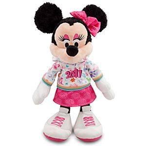 2011 Walt Disney World Resort Minnie Mouse Plush Toy -- 12 H