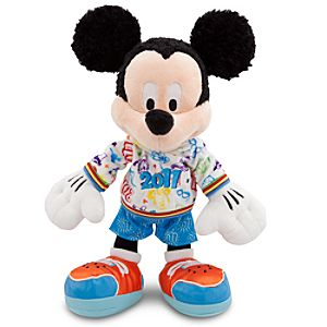 2011 Walt Disney World Resort Mickey Mouse Plush Toy -- 12 H