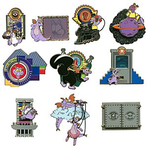 Mystery Figment Pin Set -- 2-Pc.