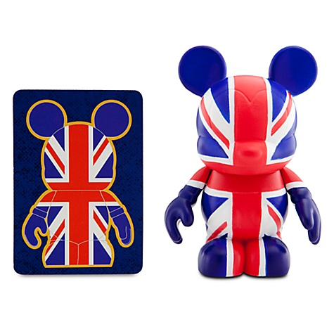Vinylmation Flags Series 3'' Figure -- United Kingdom