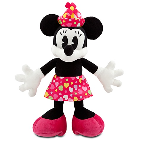 Valentine's Day Minnie Mouse Plush Toy -- 7''