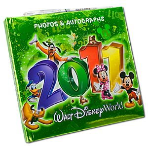 2011 Walt Disney World Resort Autograph Book with Pen