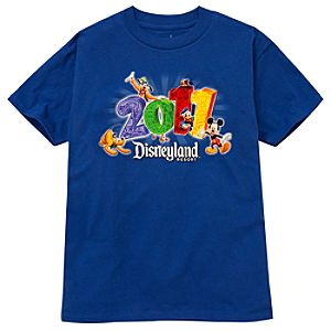 2011 Disneyland Resort Tee for Boys -- Blue