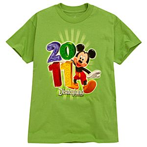 2011 Disneyland Resort Tee for Boys -- Green