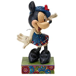 Tour Guide Minnie Mouse Figurine by Jim Shore
