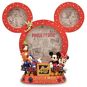 Magic Kingdom 40th Anniversary Mickey Mouse Frame