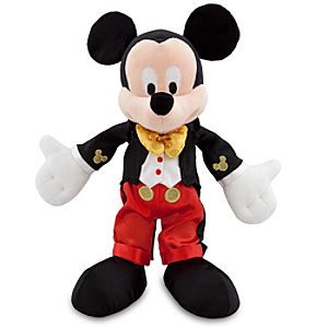 Magic Kingdom 40th Anniversary Mickey Mouse Plush Toy -- 10