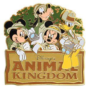 Safari Fab 4 Disneys Animal Kingdom Pin