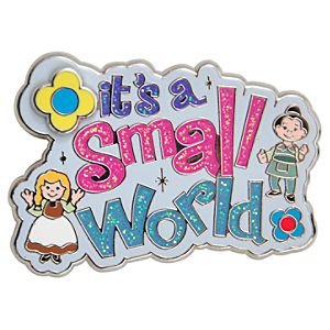 its a small world Pin