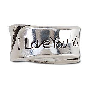 Sterling Silver I Love You More Chamilia Charm