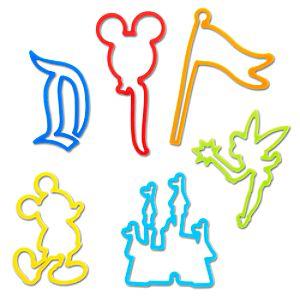 Disneyland Resort Disney Bands Elastic Bracelets Series 1 -- 12-Pc.
