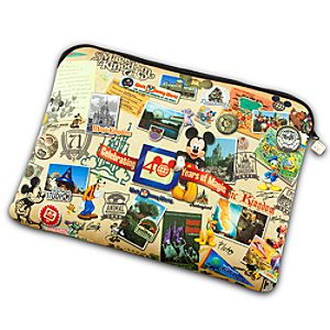 Reversible Magic Kingdom 40th Anniversary Laptop Sleeve