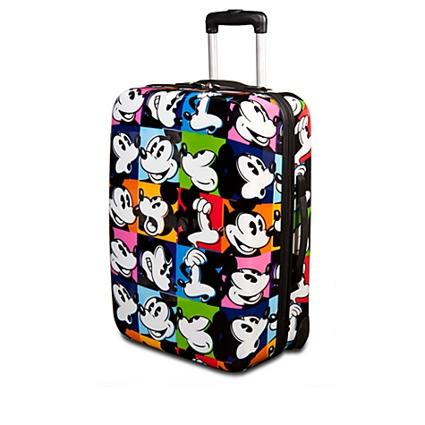 Rolling Pop Art Mickey Mouse Luggage -- 24''