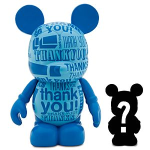 Vinylmation Celebrations Series 3 Figure with Mystery Junior -- Thank You