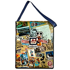 Giant Reusable 40th Anniversary Magic Kingdom Tote