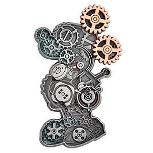 Mechanical Mickey Mouse Pin
