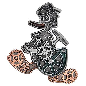 Mechanical Donald Duck Pin