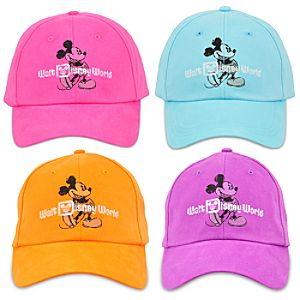 Vibrant Walt Disney World Mickey Mouse Baseball Cap