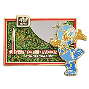 Flight to the Moon 40th Anniversary Donald Duck Pin
