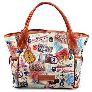 Walt Disney World 40th Anniversary Kristen Tote Bag by Dooney & Bourke -- Medium