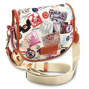 Walt Disney World 40th Anniversary Messenger Bag by Dooney & Bourke -- Small