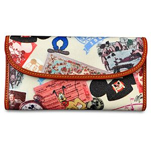 Walt Disney World 40th Anniversary Checkbook Organizer by Dooney & Bourke