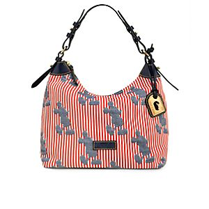Striped Mickey Mouse Champsac Bag by Dooney & Bourke
