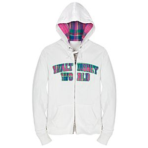 Plaid Walt Disney World Hoodie for Women