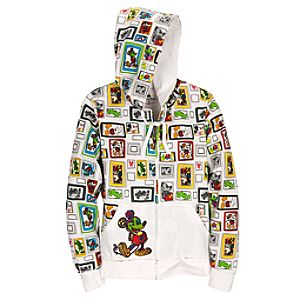 French Terry Mickey Mouse Hoodie for Women