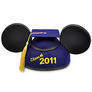 Class of 2011 Graduation Mickey Mouse Ear Hat for Adults