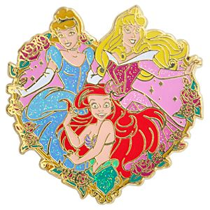 Heart Disney Princess Pin #1