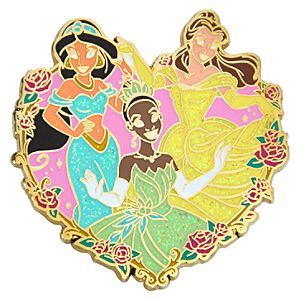 Heart Disney Princess Pin #2