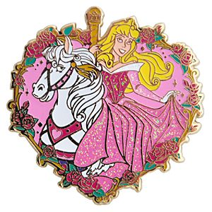Carousel Horse Aurora Pin