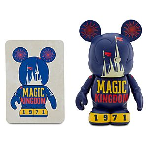 Vinylmation Walt Disney World 40th Anniversary Series 3 Figure -- Magic Kingdom
