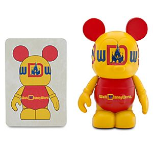 Vinylmation Walt Disney World 40th Anniversary Series 3 Figure -- Walt Disney World