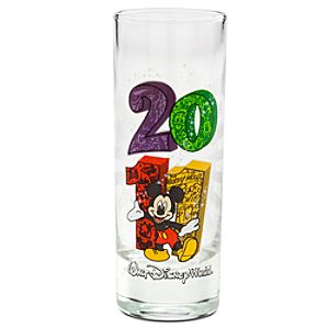 2011 Walt Disney World Resort Souvenir Glass