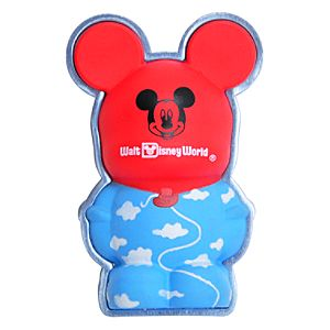 3-D Vinylmation Pin -- Walt Disney World Mickey Mouse Balloon