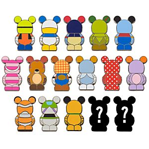 Vinylmation Jr. Stylized Character Mystery Pin Set -- 2-Pc.
