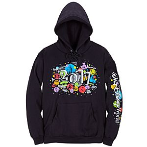 2011 Walt Disney World Resort Icons Hoodie for Men