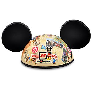 40th Anniversary Magic Kingdom Mickey Mouse Ear Hat for Adults