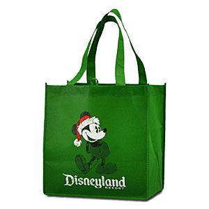 Reusable Disneyland Resort Santa Mickey Tote