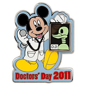 Doctors Day 2011 Mickey Mouse Pin