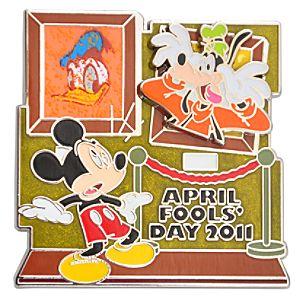 2011 April Fools Day Mickey Mouse Pin