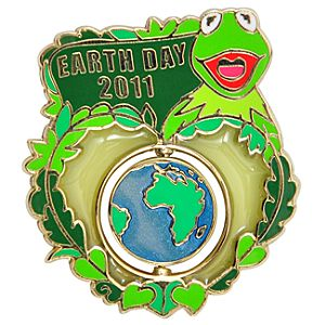 Earth Day 2011 Kermit the Frog Pin