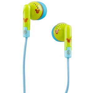 Bizarro Mickey Mouse Earbuds
